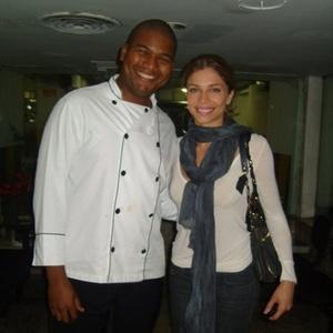 João Luiz Cardoso com a Grazi, do BBB5