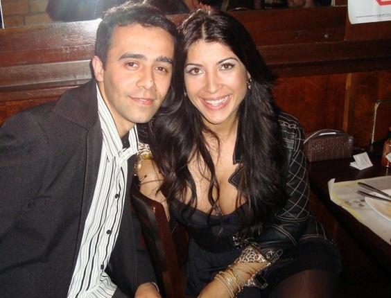 Rodrigo de Moraes enviou uma foto com Priscila Pires