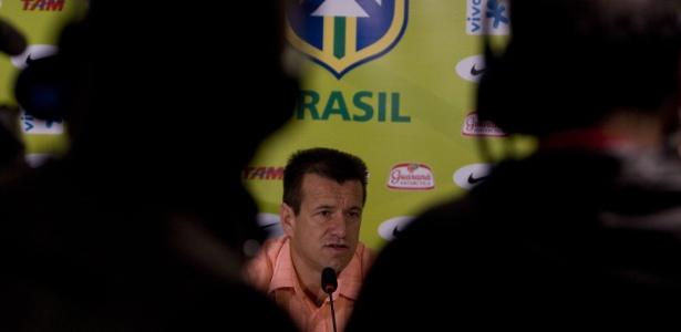 Entrevista com Dunga - Convocação para Eliminatórias da Copa, em setembro de 2008  - AFP/Antonio Scorza