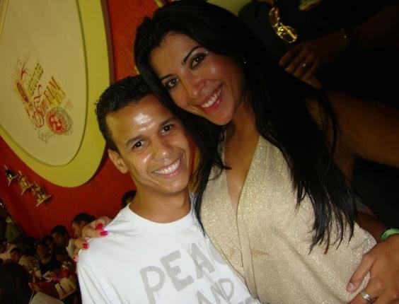 Pedro Henrique Fernandes encontrou a Priscila Pires, do BBB9, no camarote do Salgueiro em 2009